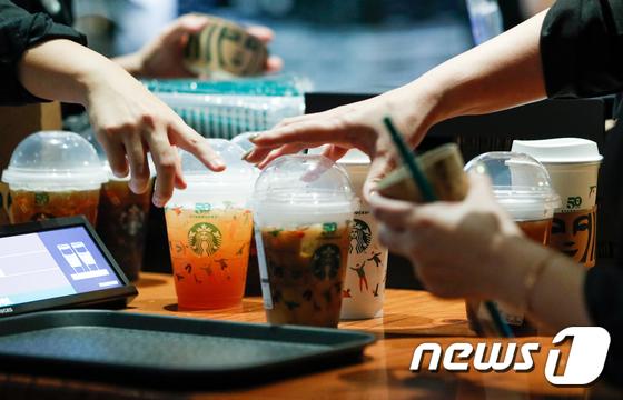 스벅 리유저블컵 데이 열기