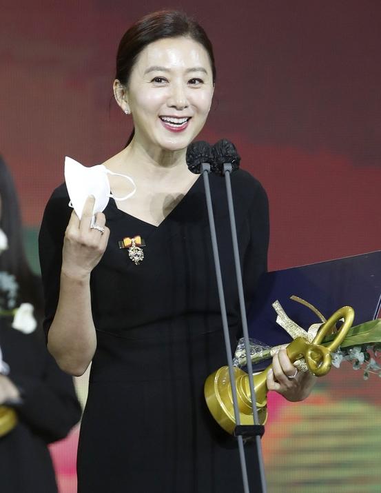 김희애 '대통령 표창'