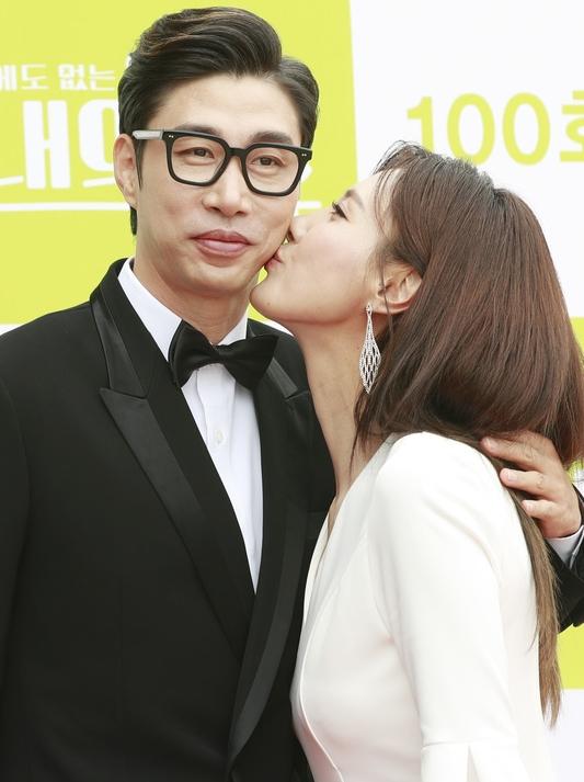 김세진-진혜지 부부 '꿀 뚝뚝'