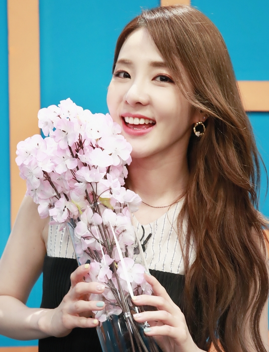 산다라박, 꽃미소 팡팡