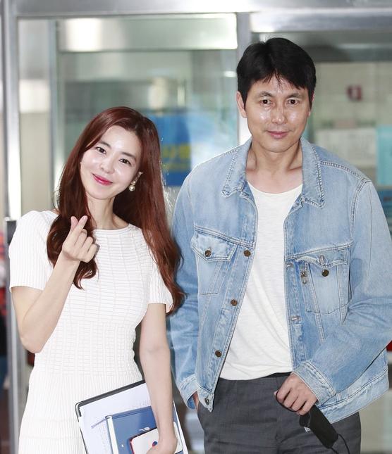 정우성-김규리 '선남선녀가 따로없네'