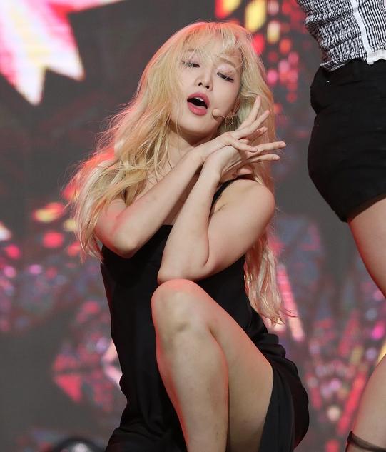 네이처 새봄 '섹시 한도 초과'