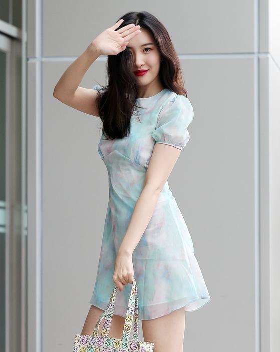 선미 '마지막까지 팬서비스'