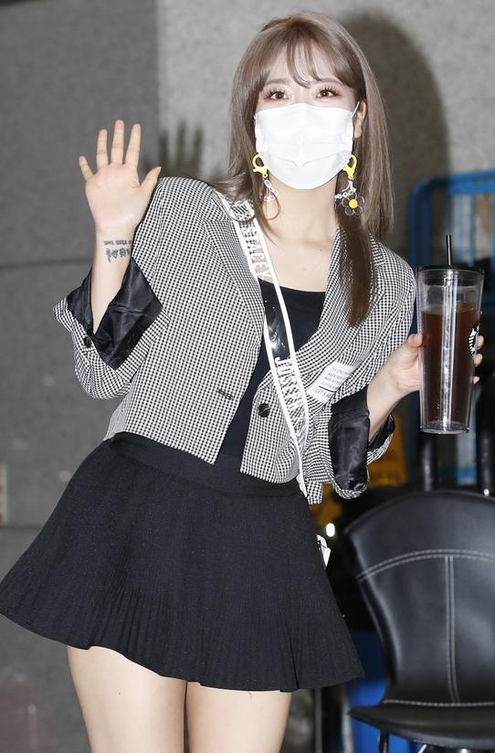 김희진 '손목타투 눈길'