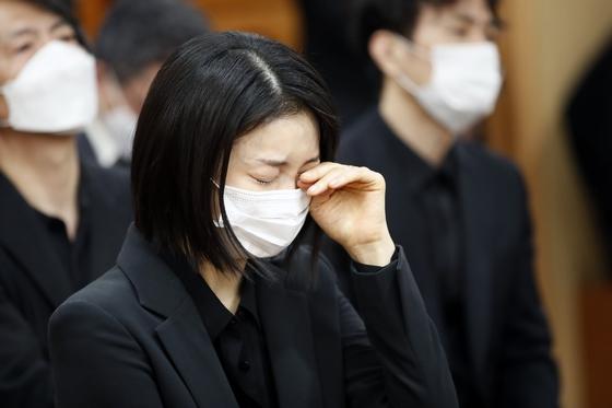 배우 김옥빈 '참을 수 없는 슬픔'